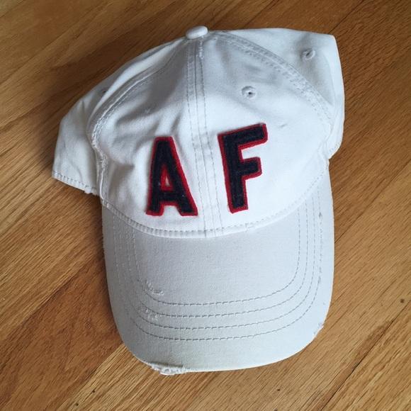 da398c9d2db Abercrombie and Fitch distressed baseball cap